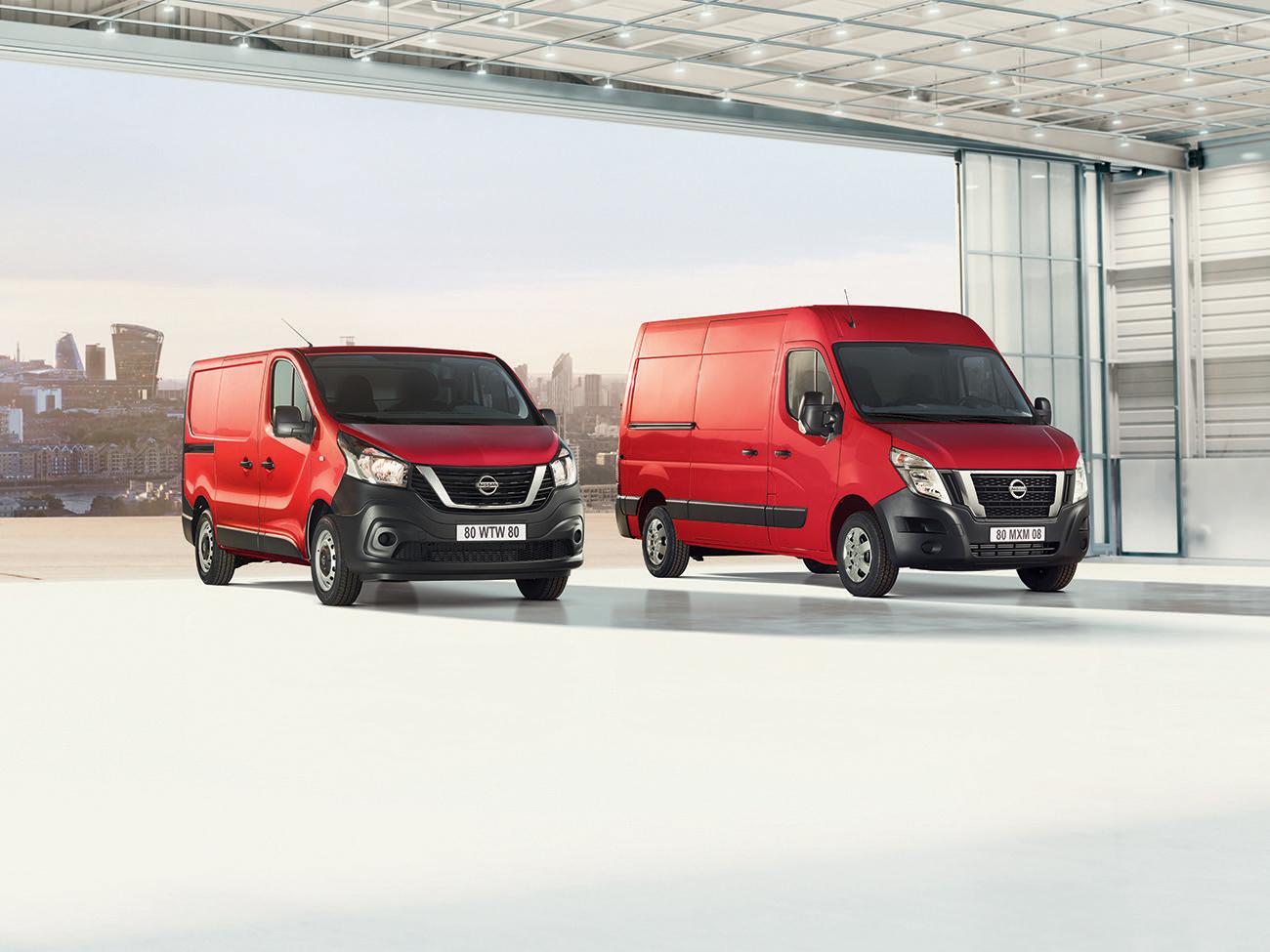 Nissan modernise les fourgons NV300 et NV400 : Plus de confort, de s�curit� et de style, et des �missions r�duites
